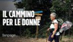 Da Gubbio a Roma a piedi per i centri antiviolenza: il cammino di Giuliana a 73anni