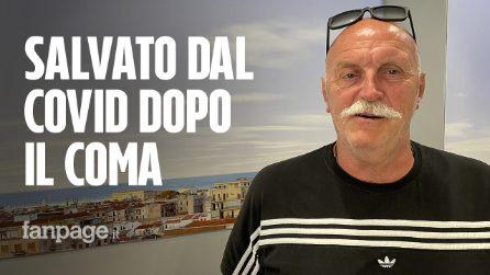 """Ettore, in coma a Bergamo per Covid fu curato a Palermo: """"Grazie Sicilia, mi avete salvato la vita"""""""