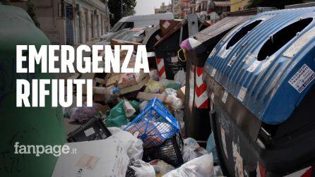 """Emergenza rifiuti, la denuncia: """"Aggressioni agli operai Ama ma la colpa è della politica"""""""