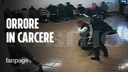 """Il video delle violenze nel carcere di Santa Maria Capua Vetere: """"Mi hanno urinato addosso"""""""