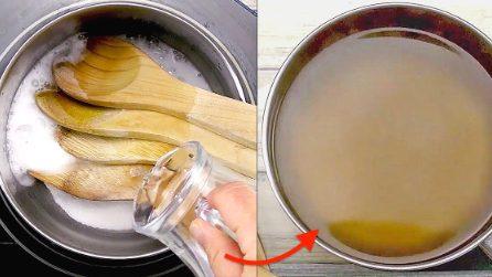 Pulire la tua cucina con il bicarbonato e l'aceto: 3 trucchi semplici ed efficaci!