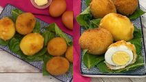 Fried egg: perfect for a tasty appetizer!