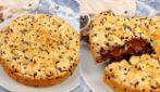 Chocolate crumble cake: greedy and irresistible!
