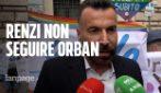 "Omofobia, Zan: ""Renzi segua Biden non Orban, Lega vuole decapitare la legge"""
