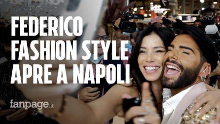 """Federico Fashion Style apre a Napoli: """"Qui mancava un salone così bello"""""""