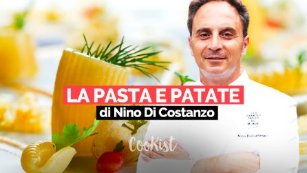 Ingegno, creatività, sperimentazione: la pasta e patate contemporanea di Nino Di Costanzo