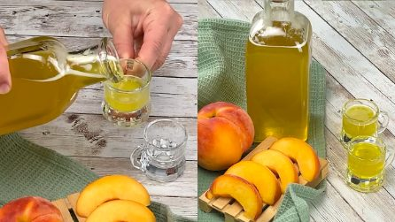 Peach liqueur: aromatic and easy to make at home!