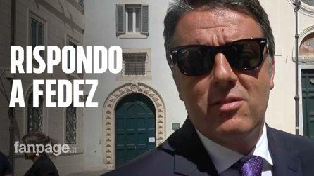 "Ddl Zan, Renzi risponde a Fedez: ""Mi critica? E poi me ne restano mille"""