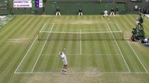 Wimbledon, Berrettini in semifinale: il match point con Aliassime