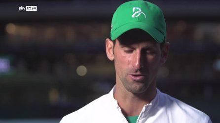 """Wimbledon, Djokovic su Berrettini: """"Servizio tra i più forti al mondo"""""""