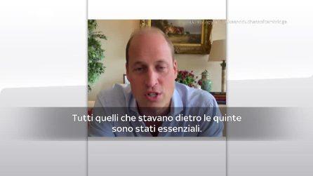 Italia-Inghilterra, il messaggio del principe William