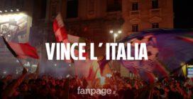 L'Italia vince gli Europei ai rigori contro l'Inghilterra: grande festa a Napoli