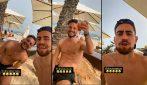 Jorginho e Mertens insieme in vacanza, dopo lo scontro diretto agli Europei