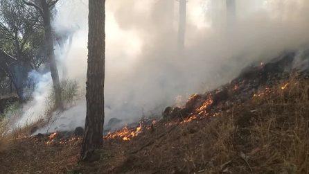 Doppio incendio sul Vesuvio, tornano i roghi nel Parco Nazionale