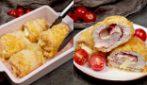 Involtini di pollo al forno: filanti dentro e croccanti fuori!