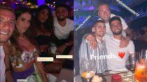Immobile, Insigne e Verratti, l'amicizia indissolubile anche in vacanza: festa a Ibiza con le consorti