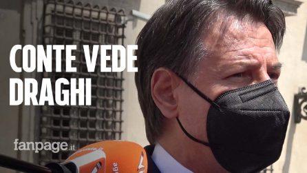 """Conte incontra Draghi: """"Sulla giustizia, il M5S non vuole processi che svaniscono nel nulla"""""""