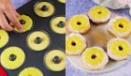 Ciambelline all'ananas: golose e profumatissime!