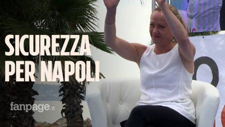"""Meloni (Fdi): """"Maresca ottimo candidato, la parola d'ordine per Napoli è sicurezza"""""""
