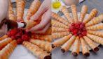 Cannoli ripieni di cioccolato: il dessert che farà gola a grandi e piccoli!