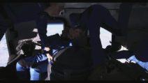 Jeff Bezos nello spazio: le immagini dall'interno della navicella