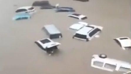 Cina, inondazioni distruttrici nella città di Zhengzhou: le auto galleggiano sull'acqua