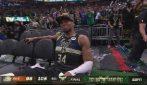 Giannis in lacrime a fine gara: i Milwaukee Bucks sono campioni NBA