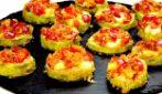 Zucchine al forno con peperoni e mozzarella: un contorno saporito da provare