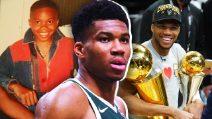 """Da bambino """"senza nazione"""" a campione NBA, la favola di Giannis Antetokounmpo"""