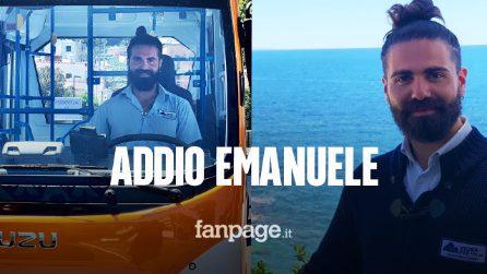 Autobus precipita a Capri, morto l'autista Emanuele Melillo: la moglie era incinta