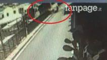 Il video del mini-bus precipitato a Capri