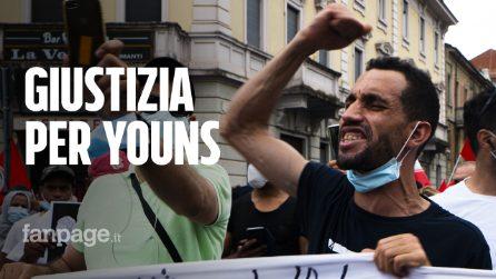 Voghera, in migliaia in piazza per chiedere giustizia per Youns ucciso a 39 anni dall'assessore