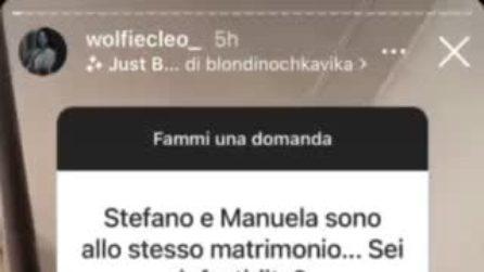 """Manuela Carriero e Stefano Sirena alle nozze di Claudia e Ste, Federica Cleo: """"Non mi infastidisce"""""""