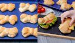Fiocchi di brioche salati: da farcire come più preferisci!