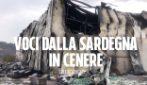 """Incendi Sardegna, le lacrime di chi ha perso tutto: """"Le campagne piene di animali bruciati"""""""