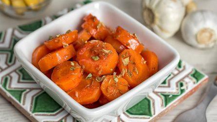 Carote all'insalata: la ricetta del contorno fresco e gustose