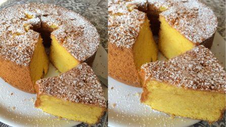 Chiffon cake al limone: la ricetta soffice e golosa da provare