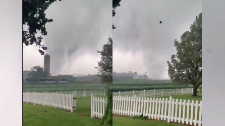 Due tornado in Pennsylvania: danni agli edifici e feriti