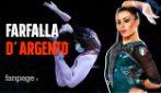 Vanessa Ferrari medaglia d'argento al corpo libero alle Olimpiadi! La farfalla vola in un sogno