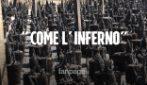 """Incendi a Catania, il racconto delle vittime: """"Neanche nell'Inferno di Dante scene così"""""""