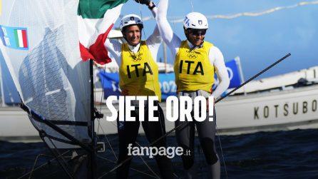 Tita e Banti sono medaglia d'oro nella vela alle Olimpiadi! L'Italia domina, secondi gli inglesi