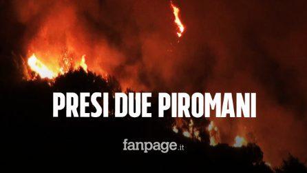 Sicilia, arrestati piromani: due allevatori sorpresi ad appiccare un incendio
