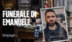 """I funerali di Emanuele, autista del bus precipitato a Capri, il papà: """"Un onore averti come figlio"""""""