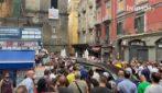 A Napoli i funerali di Emanuele Melillo, l'autista morto sul bus a Capri
