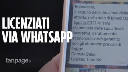 """Bologna, lavoratori licenziati via WhatsApp: """"Abbiamo figli e mutui da pagare, non siamo bestie"""""""