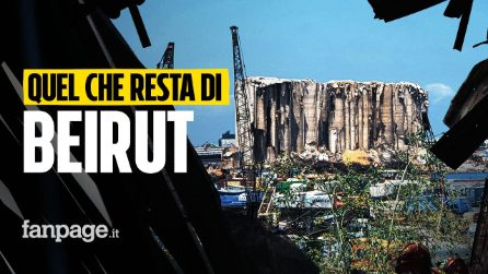 Beirut un anno dopo l'esplosione: viaggio tra le macerie di una città ancora in ginocchio