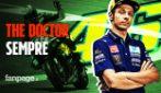 """Valentino Rossi annuncia il ritiro,l'addiocommosso: """"È stato un viaggio grandioso"""""""