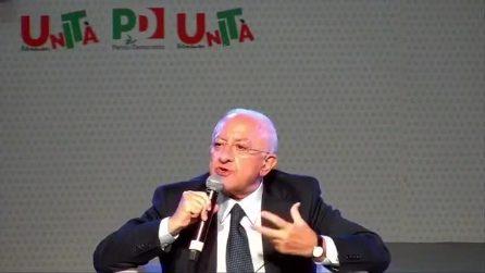 """Ddl Zan, Vincenzo De Luca: """"Così com'è non lo avrei votato"""""""