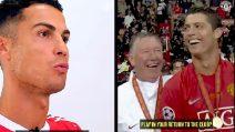 """Cristiano Ronaldo: """"Ferguson è stata la chiave del mio ritorno al Manchester United"""""""