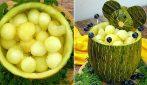 A fun and original way to serve melon!